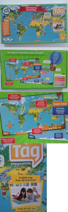 Learning Systems 158695 Leapfrog Leapreader Interactive World Map