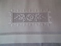Filet embroidery