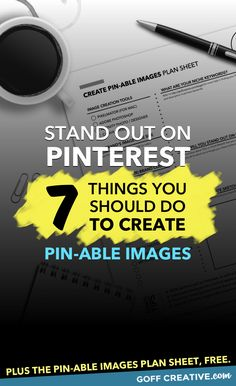 You don't have to have a huge Pinterest following to start earning SERIOUS traffic from Pinterest. Here's my 7-step process to creating Pin-able images that get results from #Pinterest. (Infographic) Click through to get all the details plus a free Pin-able Images worksheet, or Pin this for later!