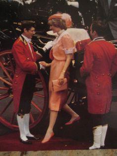 Princess Diana after the wedding