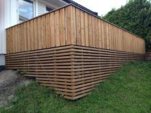 Terrasserekkverk Backyard, Patio, Fence, Architecture, Decks, Wood, Outdoor, Inspiration, Google