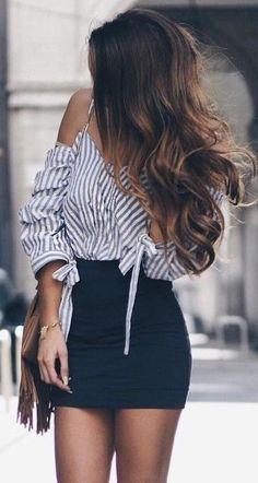 Stripes + Black