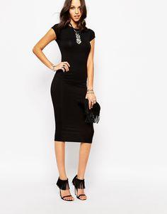Boohoo Bodycon Midi Dress