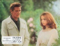 """""""Anch'io sognavo a 16 anni ... Non devi mai aver paura, Faustine. I tuoi sogni possono solo far paura agli altri"""". Georges Marchal e Muriel Catalá in """"Faustine et le bel été"""" (1972); regia: Nina Companeez"""