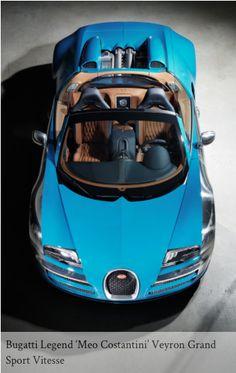 Gorgeous New Bugatti Legend 'Meo Costantini' Veyron #carporn