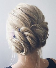 New Sweet and Stylish Bridal Updo Hairstyles 2018