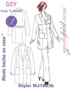 Изображение Бата Медицинский рабочей Uniform MJ1903B