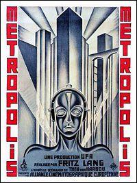 AP1276 - Metropolis, Art Deco Sci-Fi Movie Poster, 1920s (30x40cm Art Print)