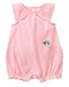Gymboree kids clothing celebrates the joy of childhood. Shop our wide selection of high quality baby clothes, toddler clothing and kids apparel. Toddler Outfits, Kids Outfits, Boy And Bird, Toddler Girl Romper, Everything Baby, Girls Rompers, My Princess, Baby Disney, Reborn Babies