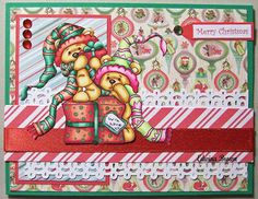 Edwina's Creations: Merry Christmas Card