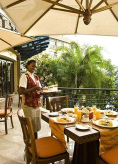 Breakfast at Kigali Serena Hotel