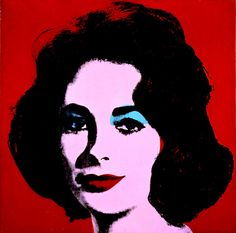 ...Red Liz by Andy Warhol