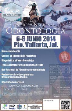 No te pierdas nuestro Congreso Nacional #OdontologíaCEA2014 Mayo 2014 Puerto Vallarta www.consejocea.com