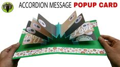 Accordion Message Popup Card - DIY Tutorial - 908