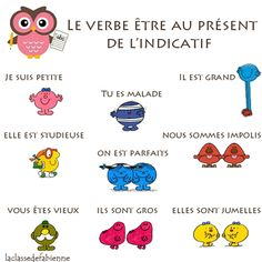 Le verbe être includes a matching game