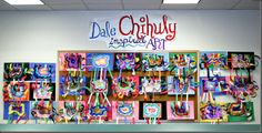 name designs for elementary art   ... Year, art displays,pandas, Chihuly, name designs,and kinder sculptures