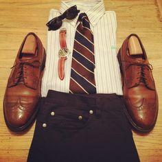 Image detail for -Basic prep preppy look men clothes shoes watch men style fashion