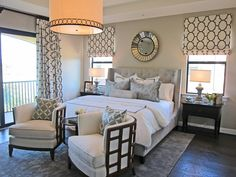 Designer bedrooms. Interior decorating for your home. Bedroom design ideas. Stylish ways to decorate your bedroom.