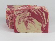 Goat Milk Soap - Raspberry Lemonade Goat Milk Soap - Homemade Soap - Gift for Her - Shea Butter Soap - Handmade Soap