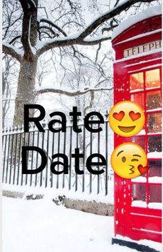 Rate Date Instagram
