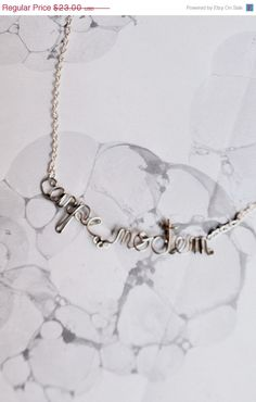 Carpe Noctem Necklace by Exaltation, $18.40
