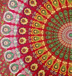 Hippie Indian Decor Mandala Tapestry Wall Hanging Throw Bohemian Dorm Art