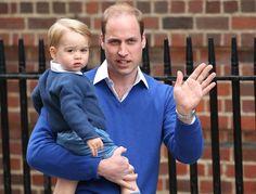 El príncipe George ya conoce a su hermana