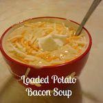 Loaded Baked Potato Soup | Made From Pinterest