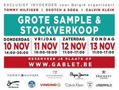 Tommy Hilfiger - Scotch&Soda Grote Winter Stock & Sample Sale -- Ternat -- 10/11-13/11