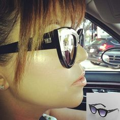 Kourtney in Kardashian Kollection Woman's Cat Eye Sunglasses Available & Only $25.20 at Sears