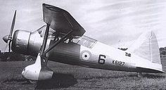 The Mercury IX powered prototype Lysander K6127, seen during its flight trials in 1936.
