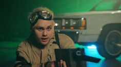 Michael in the Girls Talk Boys music video