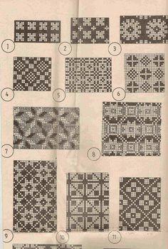 Knitting Charts, Knitting Stitches, Knitting Designs, Free Knitting, Knitting Patterns, Motif Fair Isle, Fair Isle Chart, Fair Isle Pattern, Mittens Pattern