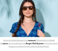 Beachwear en www.lamallorquina.es Summer 2014, Spring Summer, Wayfarer, Beachwear, Sunglasses Women, Ray Bans, Style, Fashion, Beach Outfits