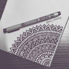 Doodle art – Drawings – Mandala drawing – Art drawings – Zentangle art – Doodle drawings – 40 – Art World 20 Mandala Doodle, Doodle Art Drawing, Zentangle Drawings, Zentangle Patterns, Drawing Ideas, Zentangle Art Ideas, Mandala Tattoo, Doodle Doodle, Doodles Zentangles
