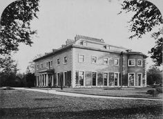Hayes Place, Kent, Pitt's birthplace. A photo of unknown date.