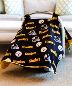 Look what I found on #zulily! Baby Fanatic Pittsburgh Steelers Car Seat Canopy by Baby Fanatic #zulilyfinds