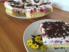 Beeren-Jogurt-Schnitte - Backen mit Christina