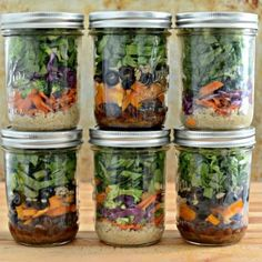 Salad in a Jar- How To by Bless This Mess