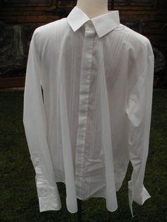 1970s St Michael Men's Dress Shirts  Black by Petticoatjanevintage, £9.00