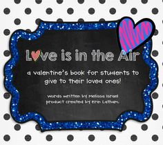 Love is in the Air parent gift book by Projects and Polkadots in first