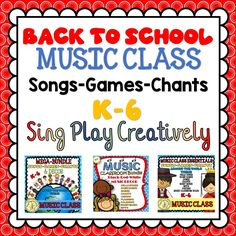 Songs, Games, Chants, Decor and More at Sing Play Creatively