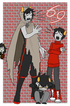 [Karkat, Kankri, The Sufferer, Homestuck, Double-Triggered]