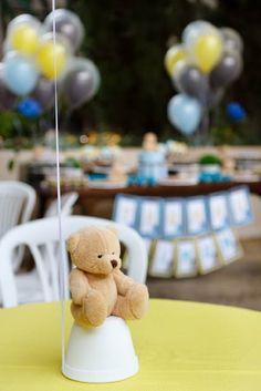 Festa Urso Thomaz #festainfantil #festapersonalizada #decoracaofesta #ursinho #chadebebe #papelariapersonalizada #temaurso