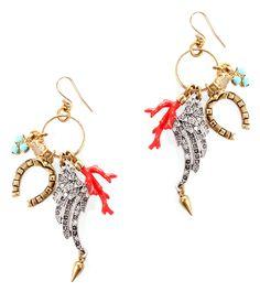 Traveler Earrings by Lulu Frost | Charm & Chain