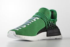 """huge inventory ab849 ad372 Pharrell adidas NMD """"Human Race"""" Gets New Green Colorway"""