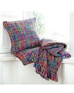 Multicoloured Throw £19.99 House of Bath
