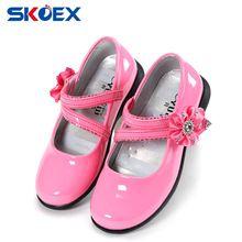 Summer Girls Sandals Fashion Children Princess Dress Shoes PU Leather  Maiden Kids Flat Shoes for Banquet 84e2c0f456a2