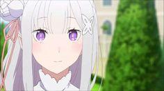 Emilia (Re:Zero) – Kuyers of Cafe Island Yuri Anime, Anime Art, Cosplay, Re Zero, Anime Screenshots, Beautiful Anime Girl, Darling In The Franxx, Another World, Light Novel