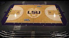 Basketball Finishes New Court Design
